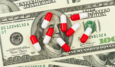 pills and money image