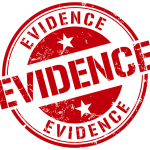 evidence stamp